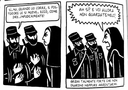 Persepolis Marjane Satrapi Rizzoli Lizard